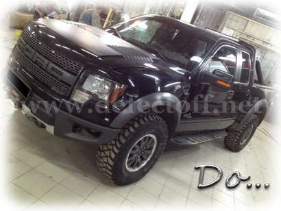 Окраска Ford F150 RAPTOR SVT